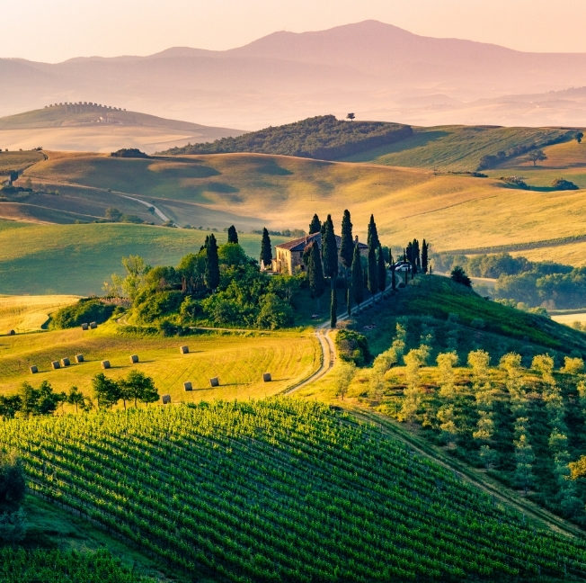 tuscan countryside destination of a luxury journey