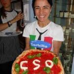 Pizza with CSO decoration